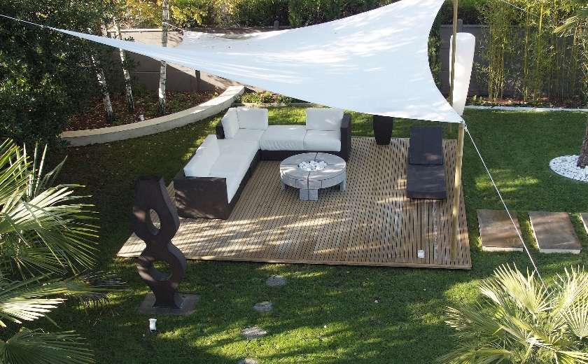 voile d'ombrage protection solaire