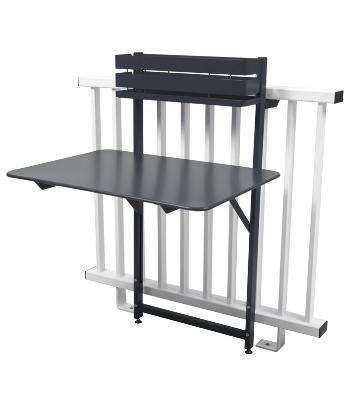 table pliable suspendu balcon fermob