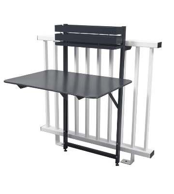 Tables suspendues pour balcon