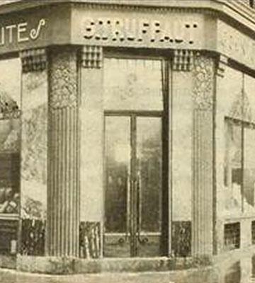 Le premier magasin parisien (24, Avenue Victoria) ouvert par G. TRUFFAUT en 1927