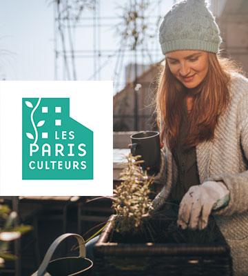 La fondation d'entreprise Georges Truffaut en partenariat avec les Parisculteurs