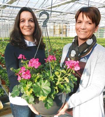 Émilie et Alilce Jarry (Ets Horticole Jarry - 49)
