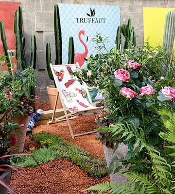 Les jardineries Truffaut et les salons