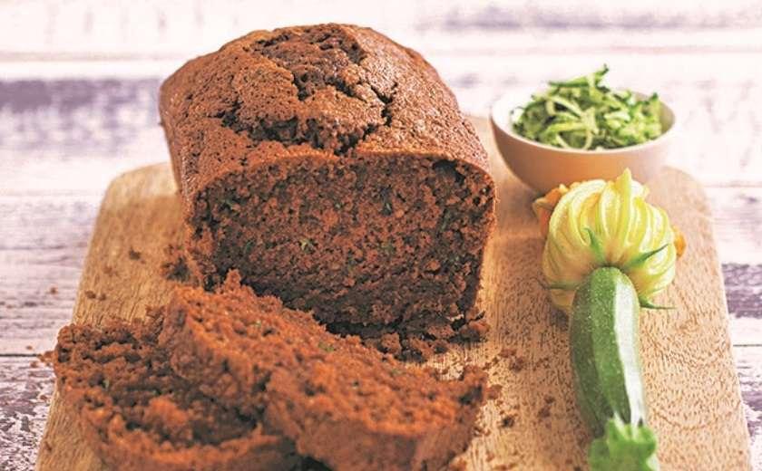 cake choco courgette