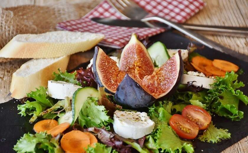 salade italienne aux figues