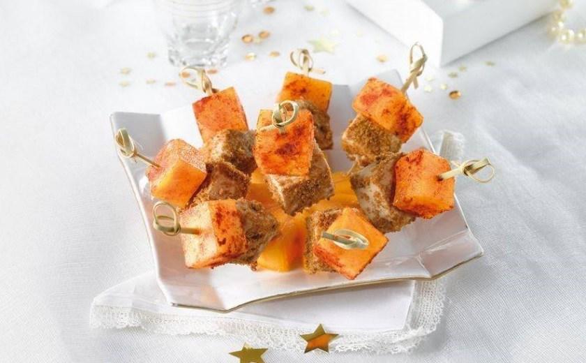 tapas foie gras kakis