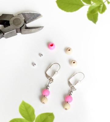 DIY boucles d'oreilles