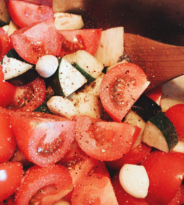 ingredients ratatouille