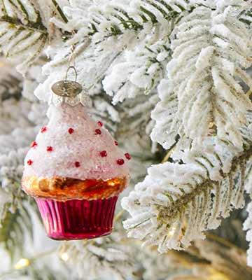 décoration cupcake Noël