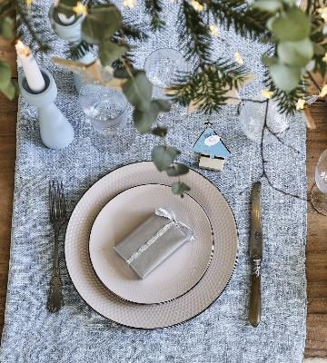 Cadeaux d'assiette Noël