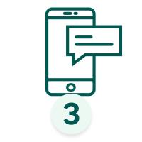 Je reçois confirmation de ma commande par SMS/EMAIL sous 2h