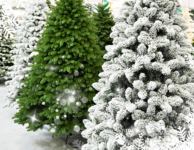Sapins artificiels