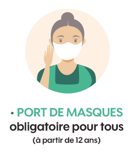 port de masques