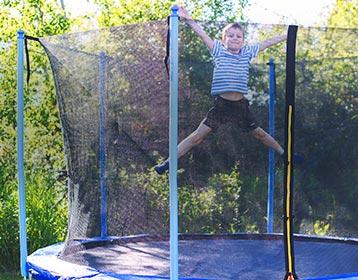 Jeux de plein air enfant