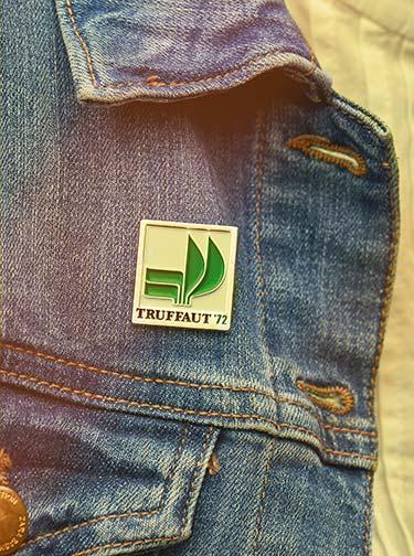 Pin's collection Truffaut 1972