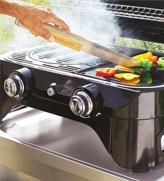 Barbecues, planchas, accessoires
