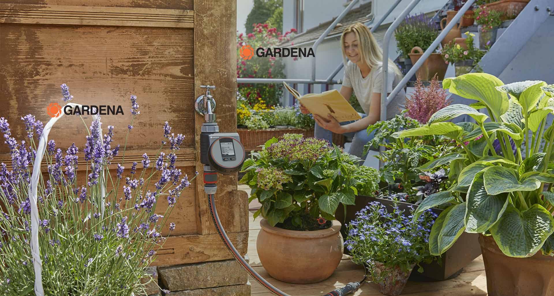 Votre jardin arrosé automatiquement