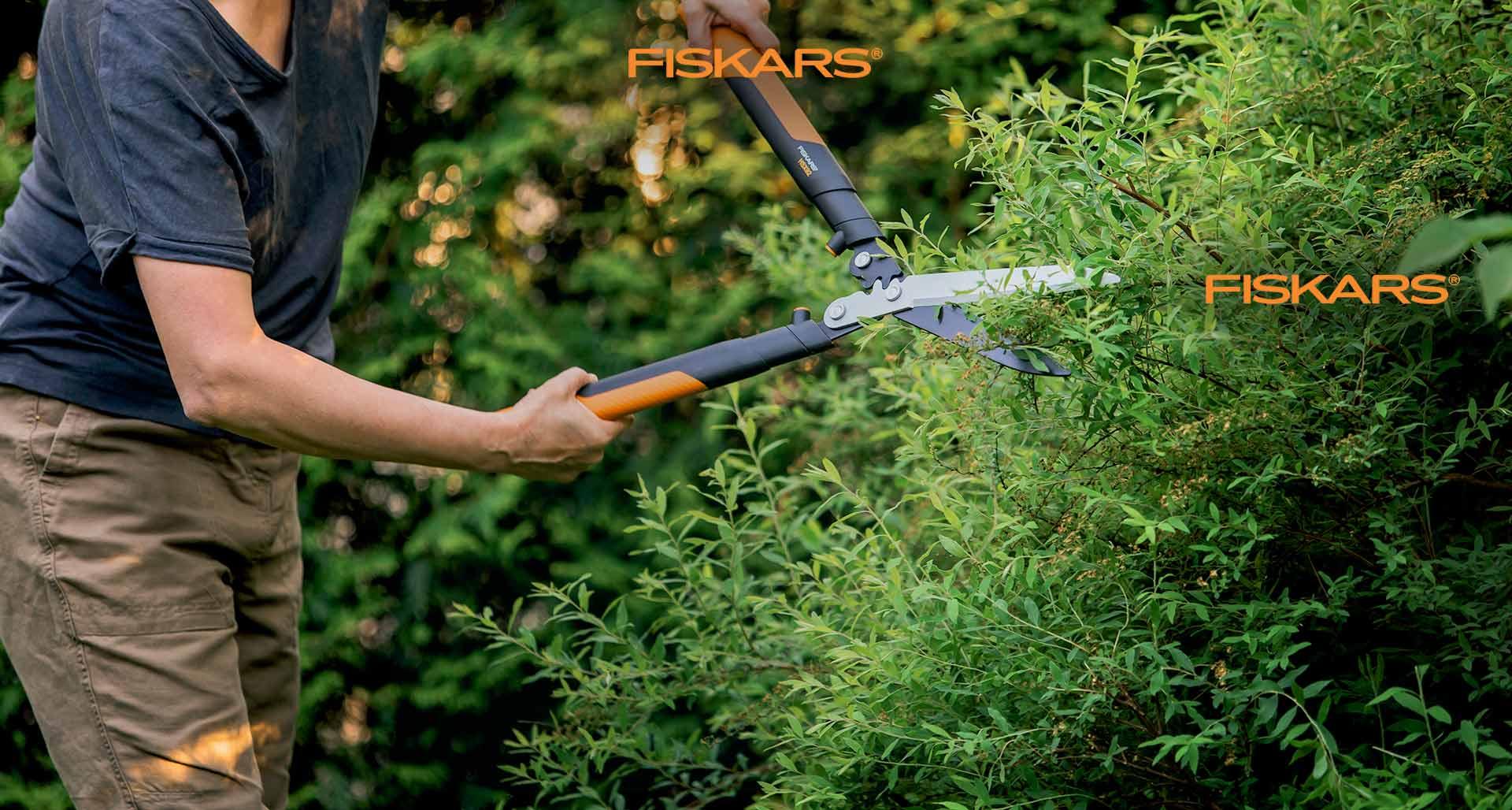 Taillez sans effort avec Fiskars