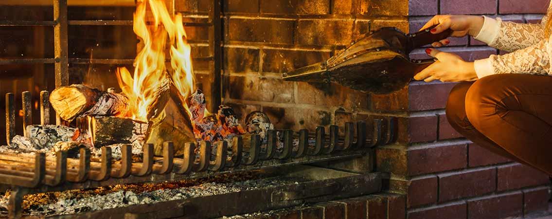 Bien au chaud devant la cheminée