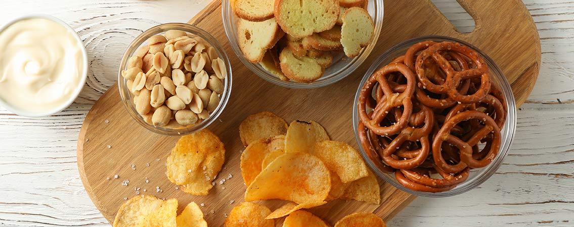Gourmandises salées à partager